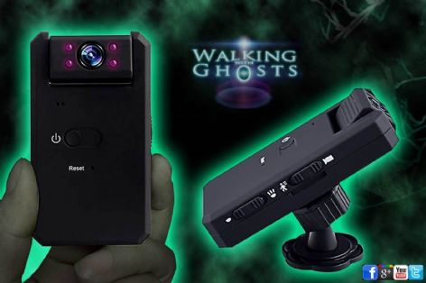 Night Vision Camera Mini IR EVP Recorder Paranormal Investigation